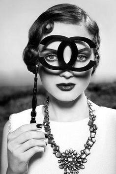 #máscara #Chanel #glamour