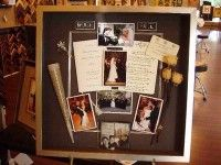 wedding memory board