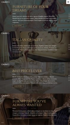 Caliento is a modern #HTML #template for multipurpose use: retail, creative, publishing, photography, blog, portfolio or another. Caliento has valid, well-written HTML5/CSS3 code that makes template fully responsive, lightweight, easy to use and customize. #webdesign