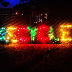 Vancouver Recycling plant in Christmas lights. Photo by morgananana_