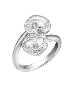 Anel da coleção Happy Diamonds-Chopard