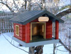 Купить кормушка подвесная для милых пернатых существ - кормушка, кормушка для птиц, скворечник, дача
