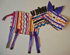 a faithful attempt: Colorful Zebras!