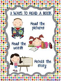 Classroom Freebies Too: 3 Ways to Read a Book {Daily 5}