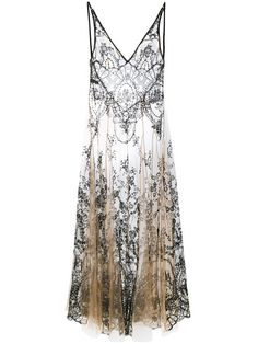 Sarrieri with over 1 items in stock. Shop I. Sarrieri floral embroidery sheer nightgown today with fast Australia delivery and free returns. Vintage Gowns, Vintage Mode, Vintage Outfits, Vintage Fashion, Embroidery Dress, Floral Embroidery, Bustiers, Transparent Nightgowns, Designer Lingerie