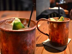 5 o'clock cocktail    moscow mule