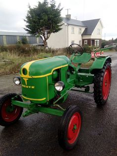 Deutz f612 reverse drive vintage tractor not massey ferguson mf ford fordson