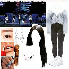 baddie outfits for school Free idea Kpop Fashion Outfits, Stage Outfits, Dress Outfits, Cute Outfits For School, Summer Outfits, Most Beautiful Dresses, Bratz Doll, Girls Wardrobe, Polyvore Outfits