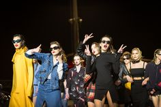 Backstage @ #stolengirlfriendsclub #nzfw 2014 N Girls, Backstage, Behind The Scenes, Fashion Show, Punk, Style, Swag, Punk Rock, Outfits