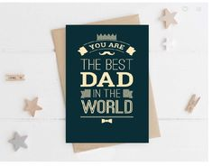 Birthday Card for Dad, Birthday Card for Father, Fathers Day Card, Fathers Day card for Dad, Dad Birthday, Father Birthday card. Father Birthday Cards, Happy Birthday, Dad Dad, Dads, Sympathy Cards, Greeting Cards, Touch Love, Best Dad, Fathers Day