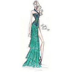 I Love Fashion Sketches ❤ liked on Polyvore