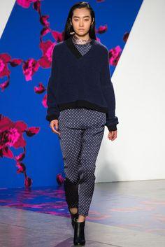Thakoon Fall 2014 Ready-to-Wear Fashion Show - Ji Young Kwak