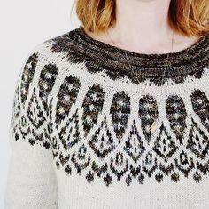 Christmas Knitting Patterns, Knit Patterns, Stitch Patterns, Fair Isle Knitting, Free Knitting, Sock Knitting, Vintage Knitting, Icelandic Sweaters, Fair Isle Pattern