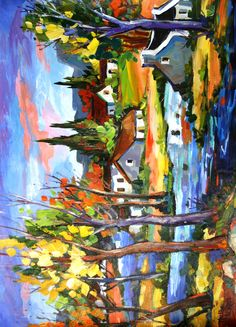 Marlise le Roux - oh the colors! South African Art, African Paintings, Sculptures, City Scapes, Crafty, Drawings, Illustration, Artwork, Inspire