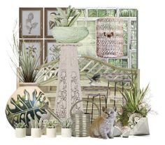 """""""Getting your plants ready for summer"""" by pusja76 ❤ liked on Polyvore featuring interior, interiors, interior design, home, home decor, interior decorating, Uttermost, WALL, Chen Chen & Kai Williams and Frontgate"""
