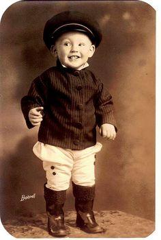 Dapper little man.
