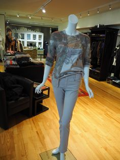 Mehr als nur Mode! Marc Cain, Jeans, Tops, Outfits, Fashion, Fall Winter, Silk, Knit Jacket, Jackets