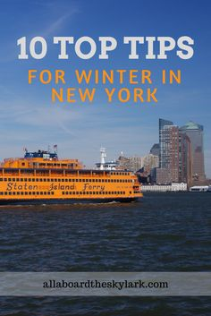 Winter is a magical time to spend time in the Big Apple. Here's my top 10 tips for spending winter in New York City.