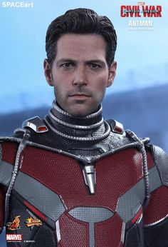 Captain America 3: Ant-Man, Deluxe-Figur (voll beweglich) ... https://spaceart.de/produkte/cam017.php