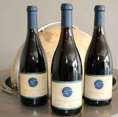 Cartograph Wines' tasting room on Center Street in Healdsburg, CA