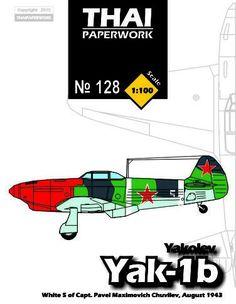 Yakolev Yak-1B Fighter (Capt Pavel Maksimovich Chuvilev) Free Aircraft Paper…