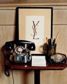 Yves Saint Laurent's home