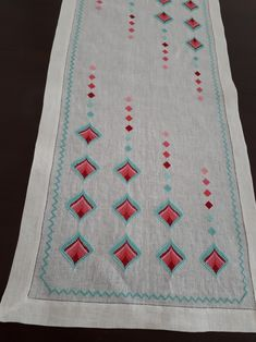 Crossstitch, Hand Embroidery, Bohemian Rug, Projects To Try, Pattern, Crafts, Inspiration, Craft, Hardanger