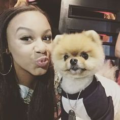 Nia Sioux and Boo ~