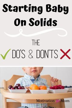 The ultimate list of baby led weaning ideas, including the do's and don'ts of baby led weaning, and a ton of baby led weaning first foods! Introducing solids to your baby is an exciting time, so make sure your baby is ready to start baby led weaning Baby Led Weaning First Foods, Baby First Foods, Baby Weaning, Baby Finger Foods, Baby Foods, Starting Solids Baby, Solids For Baby, Feeding Baby Solids, Baby Feeding Schedule