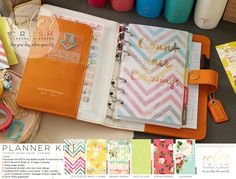 Webster's Pages New Personal Planners, Color Crushing on Caramel!