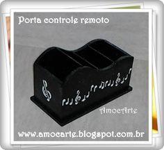 Peça organizadora - Porta controle com relevo musical - mdf madeirahttp://www.amocarte.blogspot.com.br/