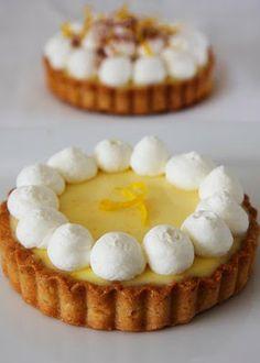 Bright Meyer Lemon Tart