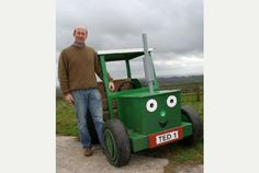 David Horler, co-founder of Tractor Ted has been shortlisted for national award  http://www.somersetguardian.co.uk/Radstock-farmer-founder-Tractor-Ted-shortlisted/story-21282046-detail/story.html