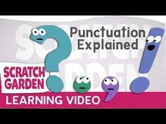 Learn about punctuation from punctuation themselves! Primary Teaching Points: punctuation, proper usage of period, question mark, exclamation mark, and Kindergarten Language Arts, Kindergarten Writing, Teaching Writing, Teaching Tools, Teaching English, Phonics Song, Phonics Words, Teaching Punctuation, Writing Mini Lessons