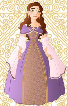 Historic Queen Primrose by Willemijn1991.deviantart.com on @DeviantArt