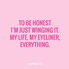 tbh just winging it #RRHQuotes
