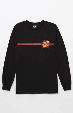 Rock some skate-infused style on top in the Other Dot Long Sleeve T-Shirt. This go-to Santa Cruz tee has a crew neck, long sleeves, and Santa Cruz graphics on the front and back. Boys Shirts, Tee Shirts, Tees, Skate Shirts, Santa Cruz Clothing, Santa Cruz Shirt, Aesthetic Shirts, Pulls, Swagg