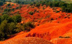 Δεν είναι εικόνα από άλλο πλανήτη. Αυτό το απόκοσμο τοπίο.. βρίσκεται στην Ελλάδα!