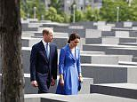 William and Kate visit the Holocaust Memorial in Berlin | Daily Mail Online