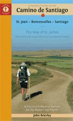 Brierely guide. Perhaps 95% of the guidebooks on the camino are by Brierley.
