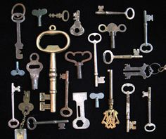 Clock & Skeleton keys