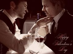 I don't ship Mystrade, but this is beautifully done.