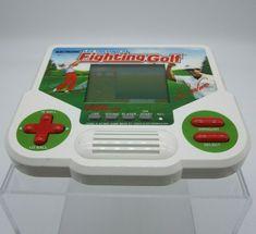 Vtg Tiger Electronic Lee Trevino's Fighting Golf Handheld Video Game 1988 Works #Tiger Lee Trevino, Handheld Video Games, Retro Video Games, Nintendo Consoles, Golf, Ebay, Turtleneck