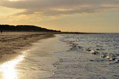 Oktoberzon kust Renesse