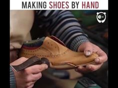 Making shoes by hand by NESS Reklam Ajansı - https://www.youtube.com/watch?v=1t5Zc72WqoQ