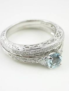 Antique Style Filigree Wedding Band. I would RUIN this, but still so pretty.