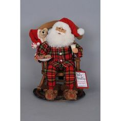 online shopping for Karen Didion Midnigh Snack Rocking Chair Santa from top store. See new offer for Karen Didion Midnigh Snack Rocking Chair Santa Gingerbread Christmas Decor, Outdoor Christmas Decorations, Santa Christmas, Christmas Carol, Handmade Christmas, Christmas Ornaments, Father Christmas, Christmas Ideas, Christmas Events