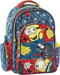 Vera Bradley Backpack, Minions, Backpacks, Bags, School Backpacks, Purses, Totes, Backpack, Lv Bags