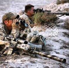 Canadian Forces Sniper Cell in Afghanistan.