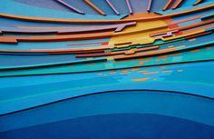 Original Mural (pre-Nemo), entrance to the Living Seas pavilion at EPCOT Disney World Florida, Disney World Resorts, Disney Parks, Walt Disney World, Famous Legends, Walt Disney Imagineering, Vintage Disney, Retro Vintage, Museum Poster